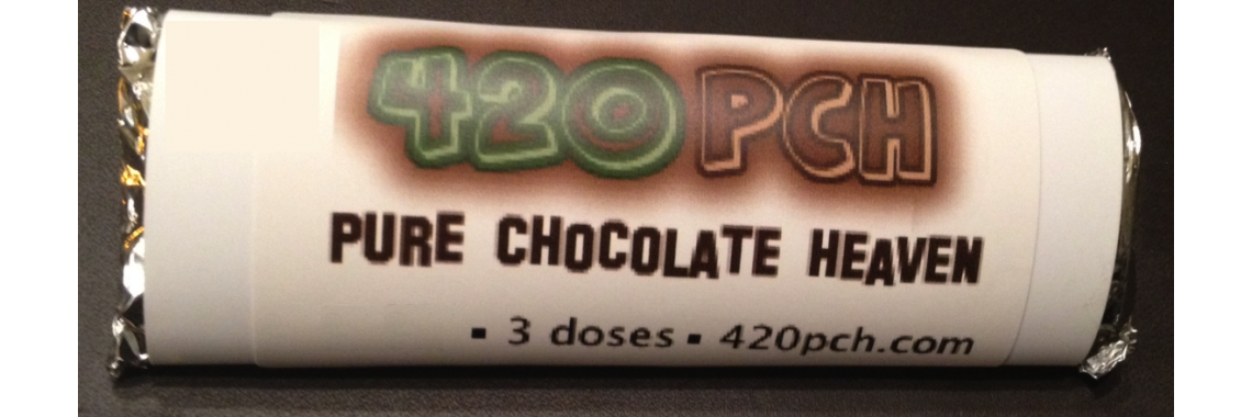 Pot Chocolates™ 420PCH™ Chocolate Bar